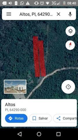 Vendo 2 hectares em Altos-Pi - Foto 2