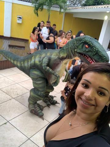 Dinossauro em sua festa .realisno e pontualidade!! - Foto 4