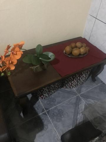 Mesa de centro madeira imbuia