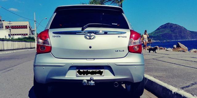 Toyota Etios e completo cano esportivo - Foto 8