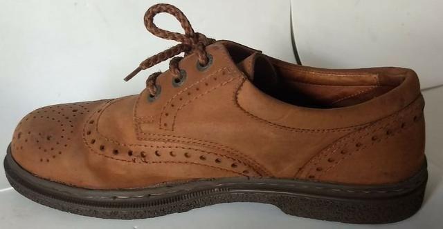 Sapato de Couro Importado | Marca ECCO | 40/41 - Foto 2