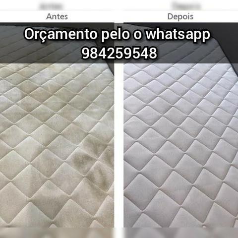 Lavagem de sofás. Colchões em Fortaleza caucaia e região metropolitana - Foto 4