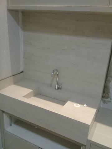 Pias d porcelanato para banheiro