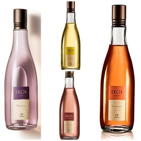 Promoção perfume natura ekos 150ml castanha, açaí, pitanga ou maracujá