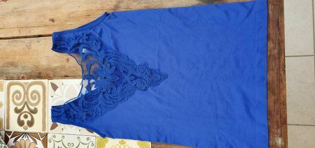 Blusa azul importada - Foto 3
