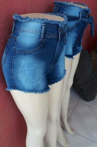 Shorts Jeans com Lycra de 3%