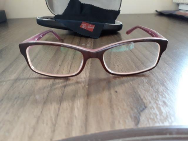 Armação óculos de grau - Ray-ban - Bijouterias, relógios e ... 08970c692f