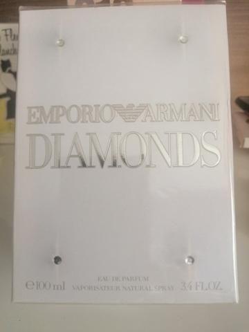 4582d05e4208f Empório armani Diamonds Feminino novo na embalagem de. 100ml mais em conta  que as.