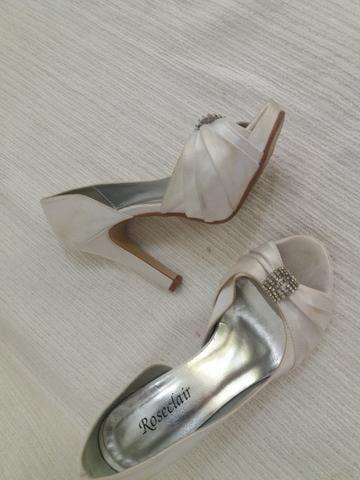 506f2e215 Sapato Branco Casamento ou Festa - nr 35 - Roupas e calçados - Vila ...