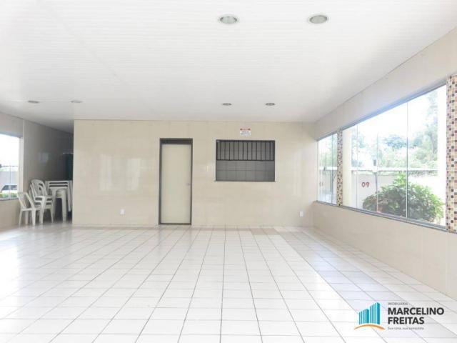 Apartamento com 2 dormitórios para alugar, 45 m² por R$ 909,00/mês - Parque Tabapua - Cauc - Foto 13