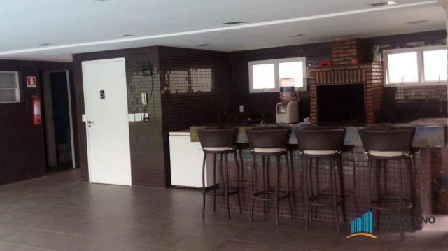 Casa com 3 dormitórios para alugar, 176 m² por R$ 2.509,00/mês - Precabura - Eusébio/CE - Foto 13