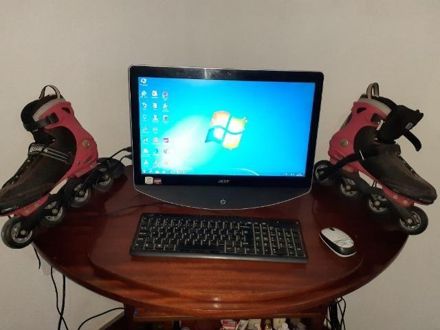 Computador + Patins 4rodas - Foto 4