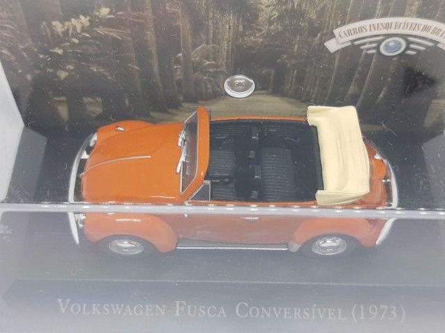 Miniatura Fusca conversível 1973 escala 1/43 - Foto 4