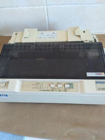 Impressora Epso lx-300 Matricial !! Somente cabo Paralelo * Frete Gratis - Foto 2