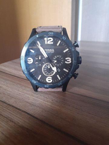 Relógio Fossil pulseira de couro  - Foto 3