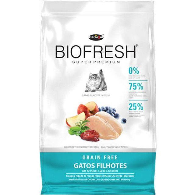 Ração Biofresh Gatos Super Premium 1,5kg Escolha o Tipo - Foto 3