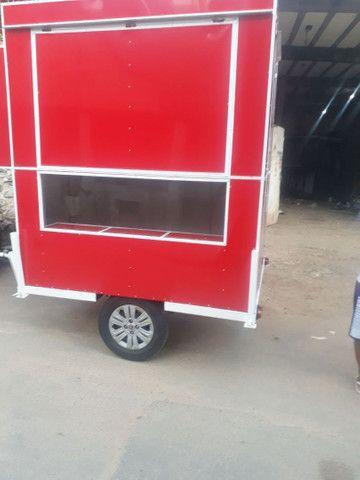 Treiler e food truck
