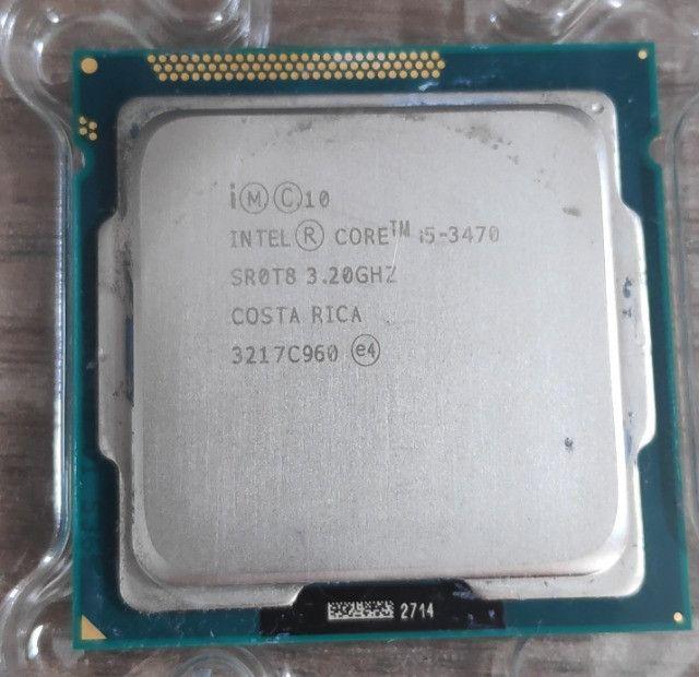 Processador Intel Core I5-3470 De 4 Núcleos E 3.2ghz Com Gpu + Pasta térmica - Foto 2