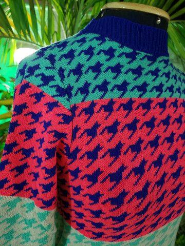 Blusa manga tricot modal - Foto 4