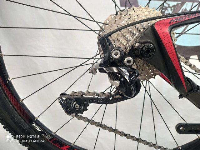 Bicicleta Merida Carbon Big7 - Foto 5