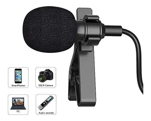 Microfone Lapela Profissional Omnidirecional Cabo 6m e simples  - Foto 2
