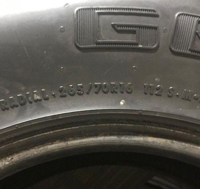 Pneu 265/70R16 AT ( leia o anuncio) apenas 1 pneu  - Foto 2