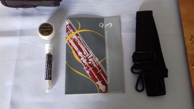 Oboé Quasar Em Madeira Modelo Qcl-204 - Foto 3