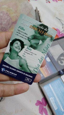 Cartões telefônicos  - Foto 2