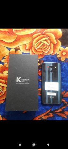 Vendo ou troco por xiaomi LG k12 Max novo na caixa nunca usado  - Foto 2