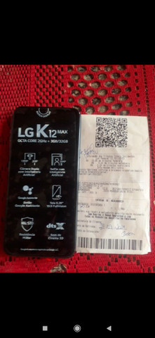 Vendo ou troco por xiaomi LG k12 Max novo na caixa nunca usado