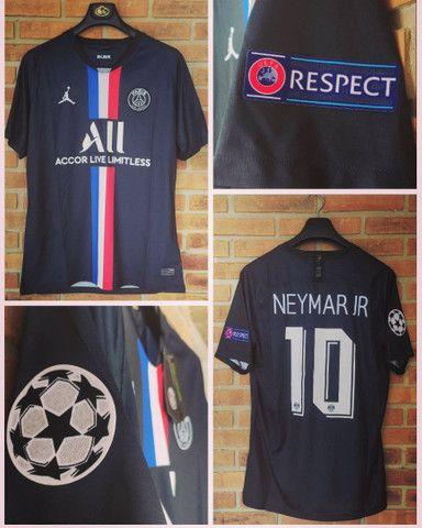 Camisa P S G Ney Futebol - Foto 2