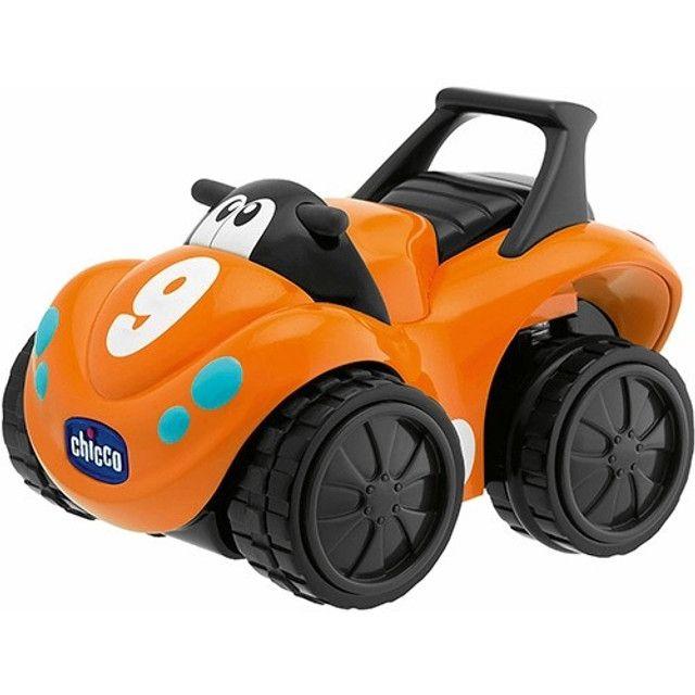carrinho de Brinquedo Bebê/Infantil Turbo Touch Quaddy Laranja - Chicco - Foto 2