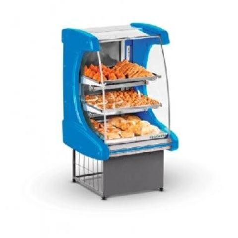 Balcao estufa eletrica com termostato - para pastel, salgados, doces,