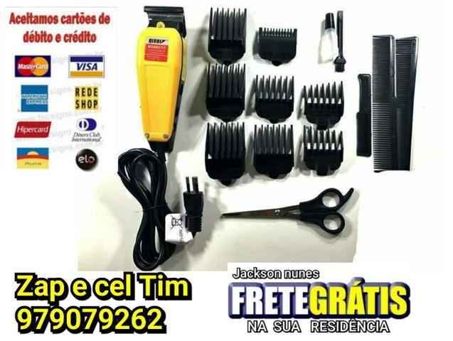 8d79622d6 Máquina Corta Cabelo Barba Aparador Profissional Qirui 220v - Beleza ...