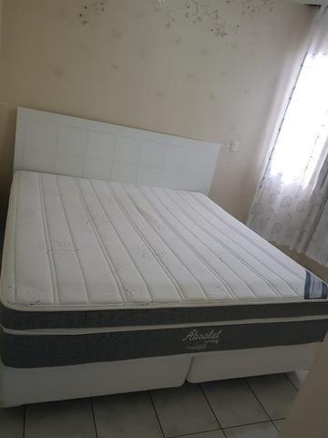 974d1408cd Cama box king size com cabeceira- R  3.000