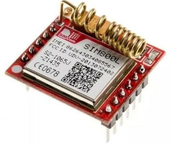 COD-AM248 Módulo Gprs Gsm -arduino Sim800l Arduino Automação Robotica - Foto 3