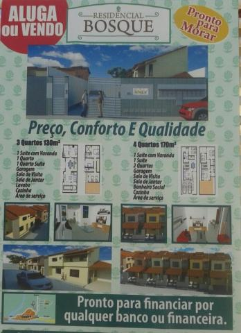 VENDO CASA NOVA COM 4/4 EM CONDOMÍNIO FECHADO,BEM LOCALIZADA