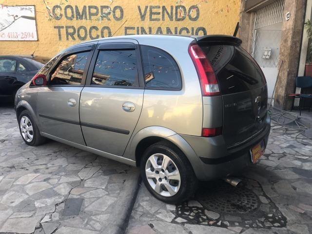 Chevrolet Meriva 1.4 8v flex Couro (Queima de estoque) + kit gas - Foto 6