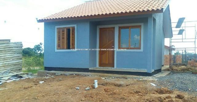 Casa 2 dormitórios com pátio grande, em Nova Santa Rita - Foto 5