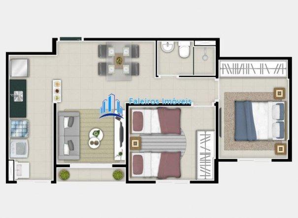 UP 400 Apartamento 2 dormitórios Minha Casa Minha Vida Ipiranga - Foto 11