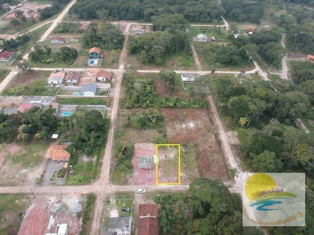 Terreno à venda, 300 m² por R$ 60.000 - Brandalize - Itapoá/SC TE0270 - Foto 4