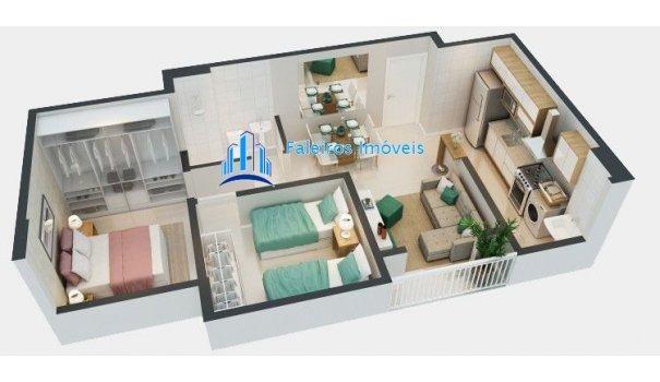 UP 400 Apartamento 2 dormitórios Minha Casa Minha Vida Ipiranga - Foto 15