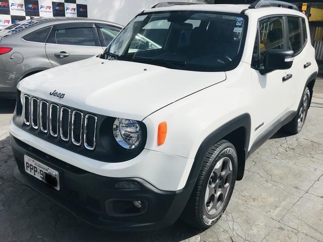 Jeep Renegade Sport 1.8 câmbio manual 32 mil km + Garantia fábrica