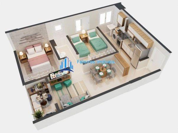 UP 400 Apartamento 2 dormitórios Minha Casa Minha Vida Ipiranga - Foto 13