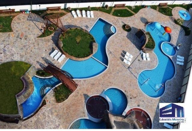 Apartamento 2 quartos para temporada em caldas novas, golden dolphin supreme bairro: turis - Foto 9
