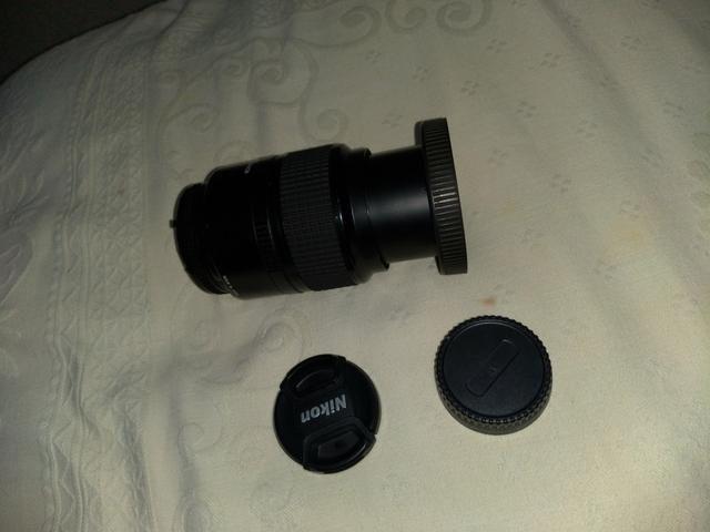 Lente Nikon vendo ou troco celular,PS4, Xbox, notebook etc. faça sua proposta - Foto 6