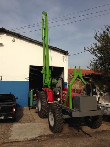 Perfuratriz Hidraulica de solo trator - Foto 4