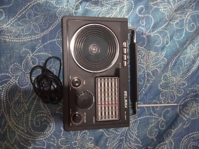 Rádio usb Portátil
