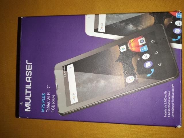 Tablet Multilaser M7s Plus quad Core 8 gb Rosa c/wifi