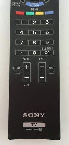 Controle remoto original Sony RM-yd058 TV 46HX-925 Seminovo - Foto 3